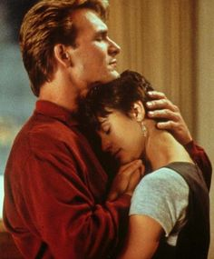 "Love this picture with Patrick and Demi Moore from ""Ghost""."
