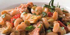Tuna Pasta with Olives & Artichokes | KitchenDaily.com