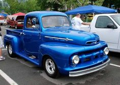 That's the one!  A 1952 Ford F-1 Pickup!  It's the same age as me, and in much better shape!  :o)