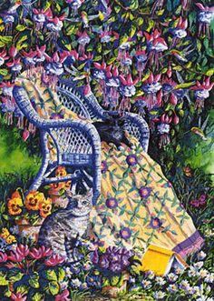 Diane Phalen Art Gallery - Under the Fuchsia