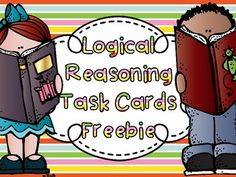 Logical Reasoning Task Cards Freebie
