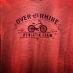 Over-the-Rhine Athletic Club t-shirt available at Park + Vine