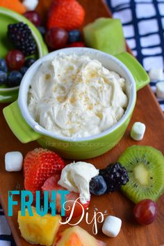 Fruit Dip (Ready In 5 Minutes!)