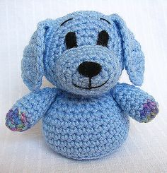 Ravelry: Cuddles the Puppy pattern by Hooked on Fauna