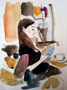 girl reading a book by tilllassmann, via Flickr