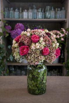 Vase Arrangement wit
