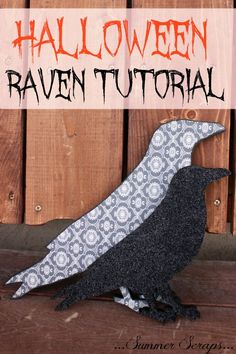 Halloween Raven Tutorial