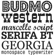 Cool free fonts
