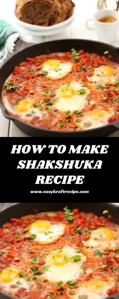 HOW TO MAKE SHAKSHUKA RECIPE - Easy Kraft Recipes