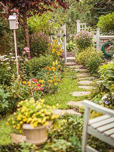 rustic backyard landscaping, landscape backyard, backyard ideas, garden pathways, garden paths, garden gates, rustic garden, landscaped backyards, gorgeous garden