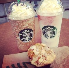 Frappuccinos I really want one