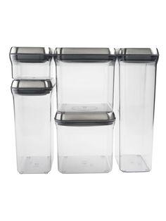 OXO Steel POP Container Set