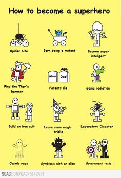 How to become a super hero