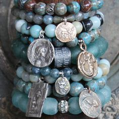 ❥ inspirational, calming blues and turquoise...