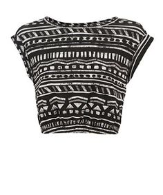 Reminder of how my diy aztec top with the bleach pen should look like!