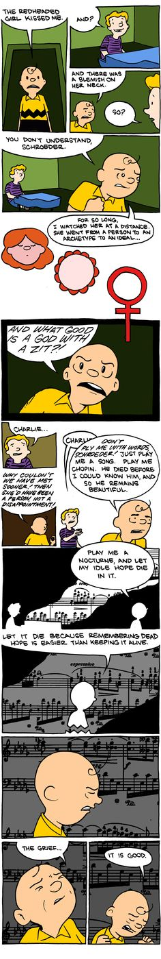 How Charlie Brown Sabotages His Own Love Life