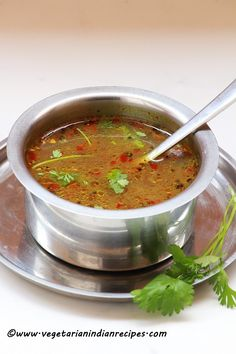 Pepper rasam or mila