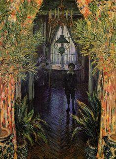 Claude Monet   Corner of the Apartment, 1875