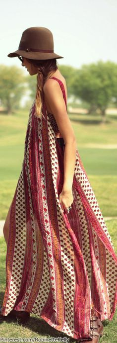 Marrakech - Casual Style | Bohemian -- I'm so in love with this dress!!!!