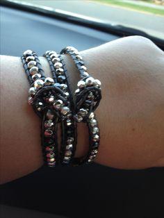 It's a wrap modified for a large wrist. Love this bracelet! Love Premier Designs Jewelry! premier design