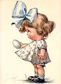 Vintage Easter - nice image for an Easter card