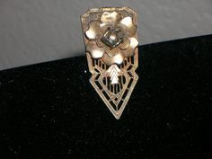 1920s Brass Art Deco Dress or Shoe Clip by Cherrybombsvintage, $12.00