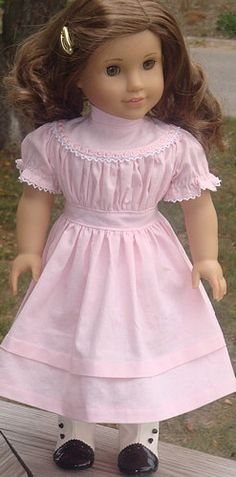 Lovely Pink Pioneer Dress For Kirsten (or Rebecca :o)
