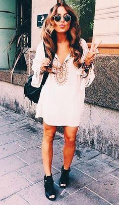 boho chic, summer styles, hair colors, blous, the dress, boho babe, fashion bloggers, shoes boho, boho fashion