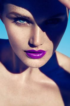 Perfect Purple Lips