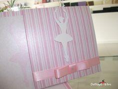Convite bailarina | dettagli@dettagliartes.com.br