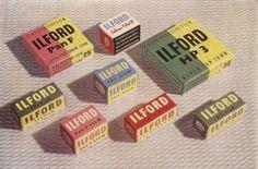 graphic design, ilford film, vintage labels, film packag, vintag packag, vintage packaging, packag design, films, vintag design