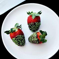 St Patricks day strawberries (2)