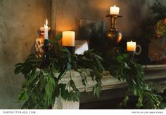 Romantic candle lights | Photography: Love Made Visible