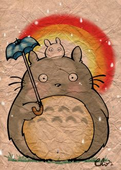 Totoro by ~Rochioo