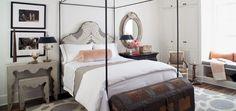 LA house - Guest Room - Styled for Veranda's House of Windsor Designer Showcase