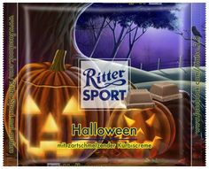 RITTER SPORT Fake Schokolade Halloween 3