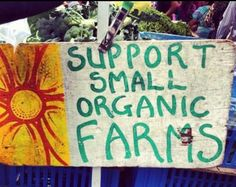 support small organic farms
