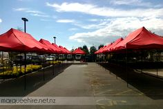 Some of our pop up gazebos used at a craft fair, we think it made for a very nice sheltered area. Gazebo Hire NZ