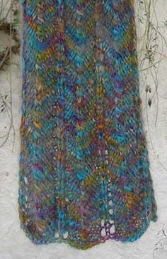 Knitting Pattern For Waterfall Scarf : 6:Knitting: Tutorials, tips, patterns & more.... on Pinterest Free Knit...