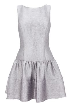 METALLIC SKATER DRESS | Warehouse#Repin By:Pinterest++ for iPad#