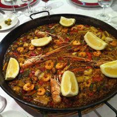 paella paella paella in Barcelona
