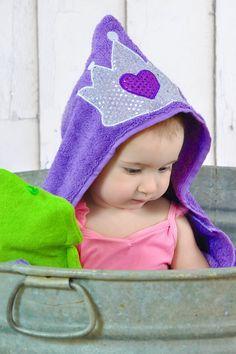 Princesa com capuz toalha - Purple Princess faísca - Princesa Sofia com capuz toalha - Praia do banho de piscina