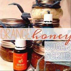 Mama Marcie: DIY Christmas Gifts - Orange Honey Sugar Scrub