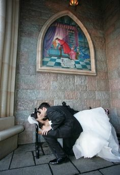 A part of our theme is loosely inspired by Sleeping Beauty so a shot like this would be fun :)