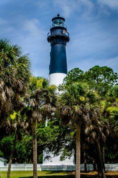 Hunting Island Lighthouse by Robert Rainbow Photography, via Flickr