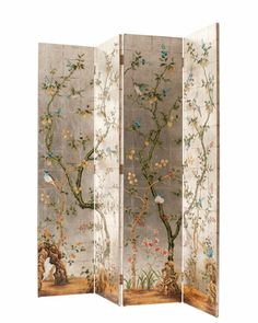 7 / PAINTED FOLDING SCREEN 3049 BY DECORATIVE CRAFTS