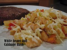 White beans and cabbage favorit recip, white bean, gluten free cooking, cabbag