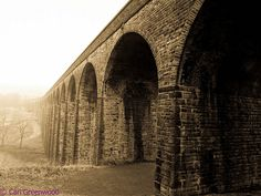 the viaduct in the thornton village a nice walk with stunning views