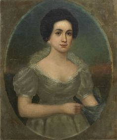 Letitia Tyler, American First Lady and first wife of President John Tyler.  Due to a stroke she suffered in 1839, Mrs. Tyler was not well enough to perform the duties of First Lady.  The task of hostess for events at the White House went to her daughter-in-law Priscilla Cooper Tyler. A second stroke in 1842 further eroded Mrs. Tyler's health and she became the first President's wife to die in the White House.  She was 52 years old.