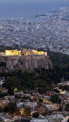 Acropolis of Athens, Greece #travelgreece #travelingthruthebible #maranathatours #athensgreece